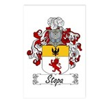 Stopa Family Crest Postcards (Package of 8)