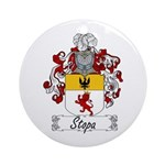 Stopa Family Crest Ornament (Round)