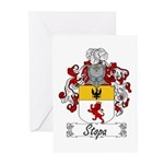 Stopa Family Crest Greeting Cards (Pk of 10)