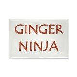 Cute Ninja Rectangle Magnet