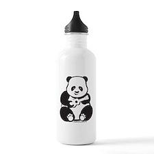 Ukulele Panda Water Bottle