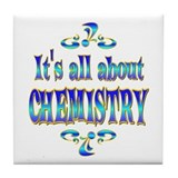 About Chemistry Tile Coaster