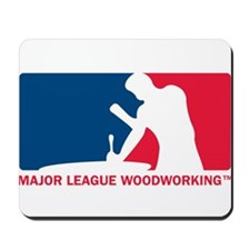 Major League Woodworking Mousepad