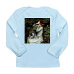 Ophelia - Aussie Cattle Pup Long Sleeve Infant T-S