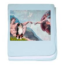 Creation - Australian Shep2 baby blanket