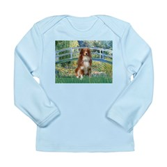 Bridge-Aussie Shep #4 Long Sleeve Infant T-Shirt