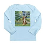 Bridge-Aussie Shep (#5) Long Sleeve Infant T-Shirt