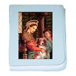 Madonna-Aussie Shep #4 baby blanket