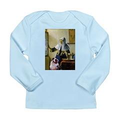 Pitcher-Aussie Shep1 Long Sleeve Infant T-Shirt