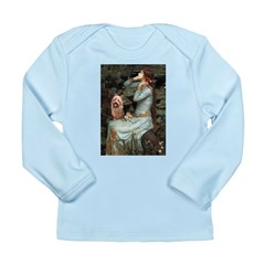 Ophelia-Aussie Terrier Long Sleeve Infant T-Shirt