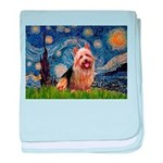 Starry-AussieTerrier baby blanket