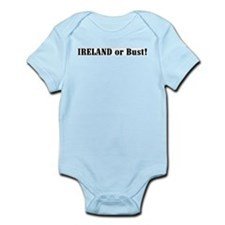 Ireland or Bust! Infant Creeper