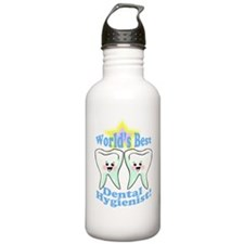 Worlds Best Dental Hygienist Water Bottle