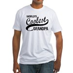 World's Coolest Grandpa Fitted T-Shirt