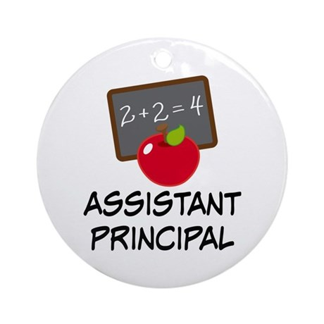 Assistant Principal Ornament (Round)