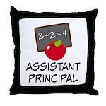 Assistant Principal Throw Pillow