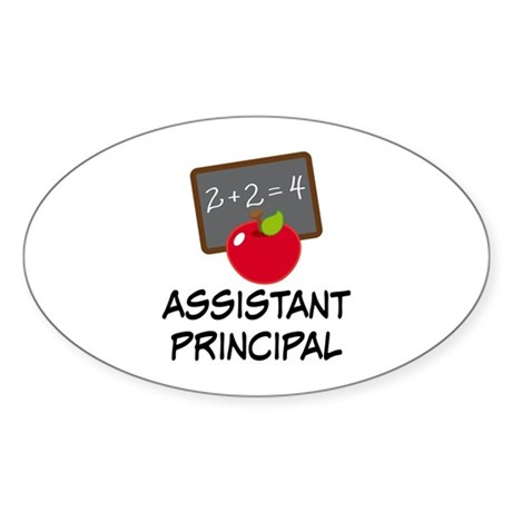 Assistant Principal Sticker (Oval)