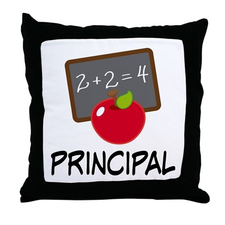 Principal Throw Pillow