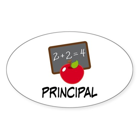 Principal Sticker (Oval)