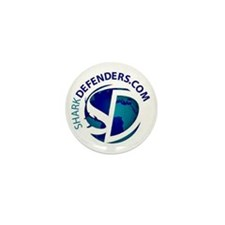 Shark Defender Buttons Mini Button (100 pack)