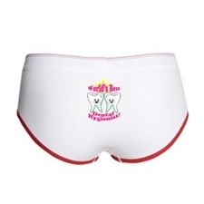 Worlds Best Dental Hygienist Women's Boy Brief