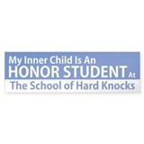Inner Child Honor Student Bumper Bumper Sticker