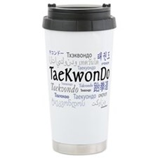 Taekwondo 18 Ceramic Travel Mug