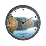 BackpackOhio.com Lake Vesuvius Wall Clock
