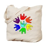 Love of Many Colors Tote Bag