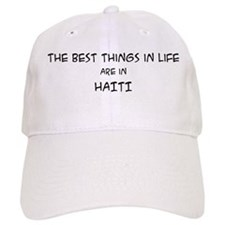 Best Things in Life: Haiti Baseball Cap