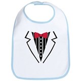 Tuxedo Bib