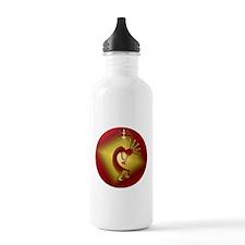 Bronze & Gold Kokopelli Water Bottle