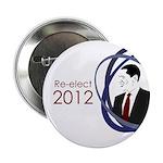 Re-elect Obama 2012 campaign button