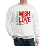 Heart Disease Wish Hope Sweatshirt