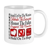 Heart Disease Honor Support Mug