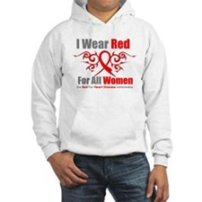 Heart Disease Red For Women Hoodie