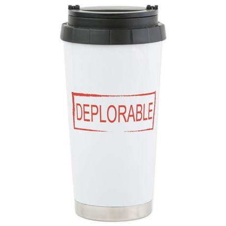 Tribute For Breast Cancer Large Thermos Bottle
