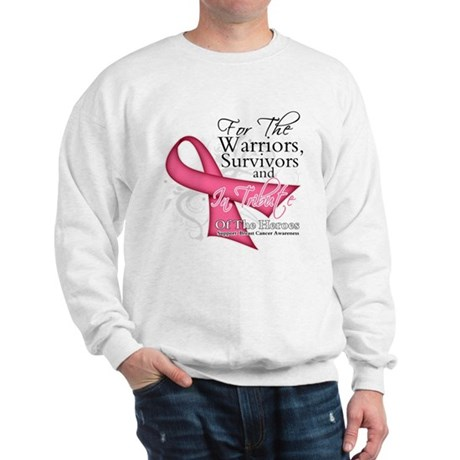 Tribute For Breast Cancer Sweatshirt