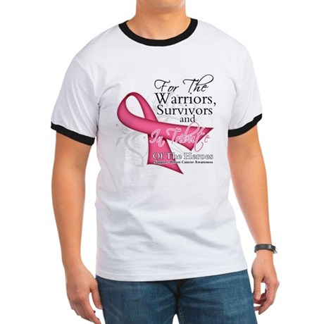 Tribute For Breast Cancer Ringer T
