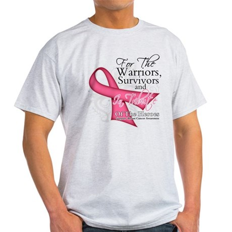 Tribute For Breast Cancer Light T-Shirt