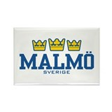 Malmo Sverige Rectangle Magnet
