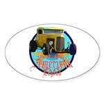 American legend Sticker (Oval 50 pk)