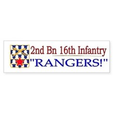 2nd Bn 16th Infantry Bumper Sticker