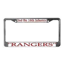 2nd Bn 16th Infantry License Plate Frame