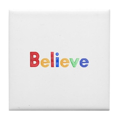 Christian Believer Tile Coaster
