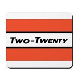 Funny Twenty two Mousepad