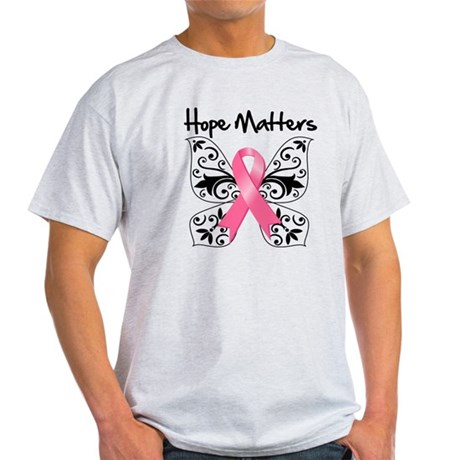 Hope Matters Breast Cancer Light T-Shirt