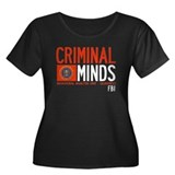 Criminal Minds FBI BAU Women's Plus Size Scoop Nec