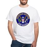 Licensed Bird Bander White T-Shirt
