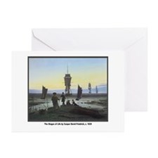 Friedrich Stages of Life Greeting Cards (Package o
